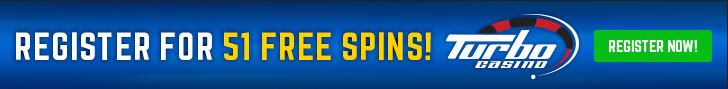 Free spins bij Turbo Casino